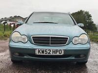 Mercedes C200 1.8 Automatic
