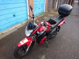 Prestine Showroom Lexmoto Aspire TD125 For Sale