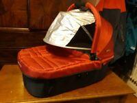 Uppababy VISTA/ CRUZ carrycot in very good condition