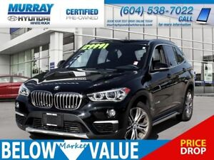 2016 BMW X1 xDrive28i**LEATHER**PANO ROOF**BLUETOOTH**