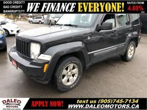 2011 Jeep Liberty Sport | 4X4 | TEST DRIVE TODAY ~~ GREAT PRICE!