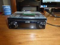 kenwood car radio cd player kdc-w7044u with usb plug hole