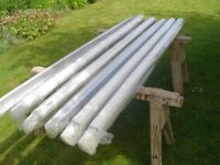 Self Supporting Polycarbonate Roof Bars