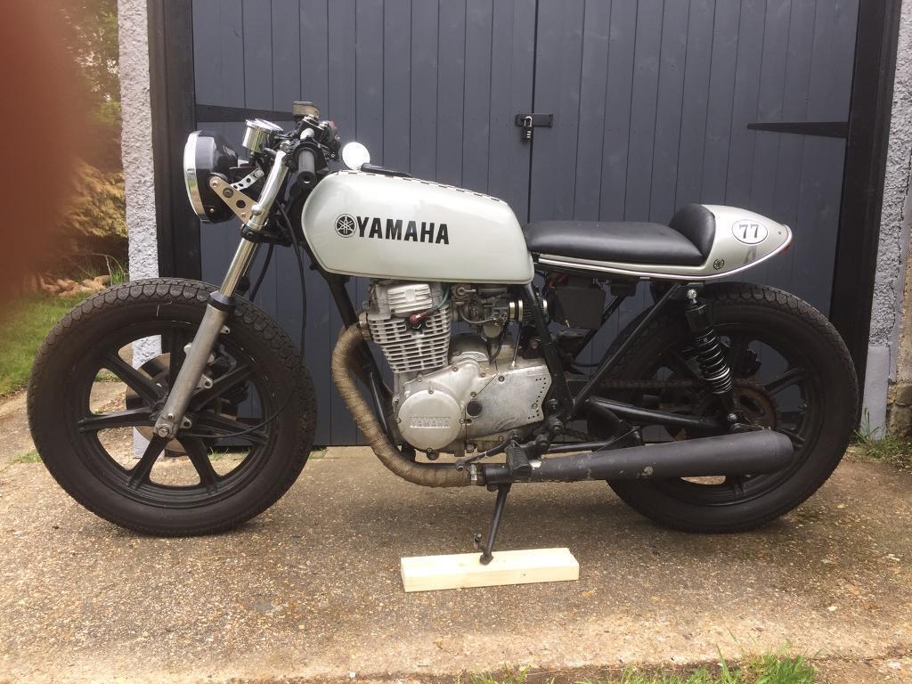 cafe racer yamaha xs250 1978 motorbike motorcycle | in chessington