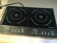 Portable DOUBLE Induction Hob - ANDREW JAMES