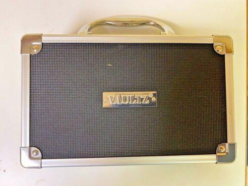Vaultz Combination Lock Box for Jewelry Cash Money Medicine Portable Case