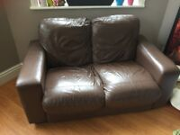 Two-Person sofa, free with collection