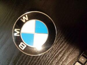BRAND NEW AFTERMARKET BMW HOOD & TRUNK EMBLEM SET