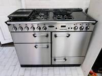 Rangemaster Professional 110 Dual Fuel Range Cooker Stainless Steel 110CM