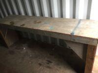 Wooden work Bench - free