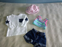 Girls size 9-12 months summer clothes bundle - 4 items