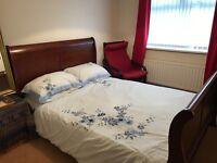 Kingsize Sleigh Bed Wooden bed Frame