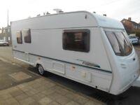 2003 5 berth caravan, full awning, £4300