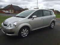 "08 TOYOTA COROLLA VERSO 1.8 VVTI FSH 7 SEATER ""REDUCED"" P/EX WELCOME"
