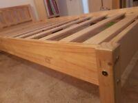 Single Pine Wood Bed