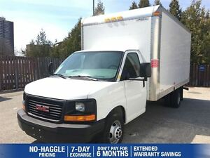 2015 GMC Savana 3500 | 16 FT CUBE VAN| GREAT KM AND VALUE!