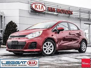 2016 Kia Rio LX+ - Heated Seats, Bluetooth, ECO, AUX/USB