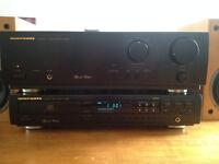 Marantz CD-63SE CD player, PM-66SE amplifier & Gale Gold Monitor MK2