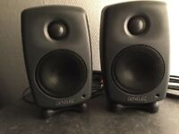 GENELEC 8010 AP7 pair of Speakers – Desk monitors, Perfect never used, boxed