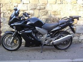 Honda CBF1000. GT model CBF 1000 with full Honda luggage, fairing lowers and heated grips