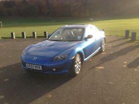 Mazda RX8 4 door coupe, 33,000 miles
