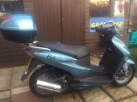 HONDA DYLAN SES 125-2 SCOOTER 2003 EASY PROJECT STARTS AND RUNS FINE