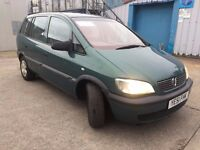 Vauxhall Zafira - 7 Seater - New Clutch Fitted!