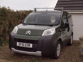 Citroen Nemo 1.4 HDi , 61k , ex-Forestry, full stamped service, very nice cond in and out. New MOT