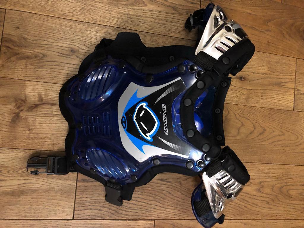 Kids UFO Shockwave motorbike chest protector