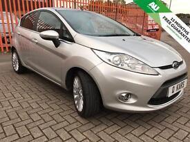 2011 (11) Ford Fiesta 1.4 TDCi Titanium 5dr / 34K FSH/ 1 owner from new /12 month MoT /