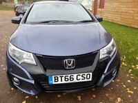 Honda Civic SE Plus 1.6 Diesel 2016 fully loaded, Less than 1 Year old! Low mileage