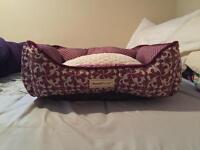 Pink Pooch planet dog bed