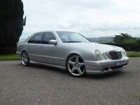 2001 Mercedes e55 amg. 5.4 litre v8