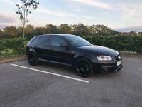 Audi A3 2.0 TDI Black Edition S Line Sportback 5dr HPI Clear (Not S3 RS3 ST BMW 520D 320D M Sport)