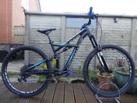 "2014 Specialized Enduro Comp Mountain Bike 29er wheel 17"" Medium Frame 160mm Travel Full Suspension"