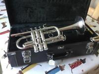 Yamaha Eb/D Trumpet YTR6610