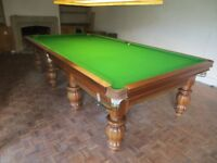 Stunning 10ft x 5ft Snooker Table with Free Delivery and Installation