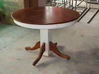 Antique round oak table