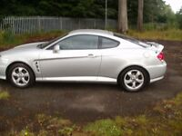 Hyundai coupe S . 1.6cc. On 06 plate