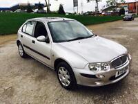 2001 Rover 25 1.4 16v Silver Metallic 44,000 Miles