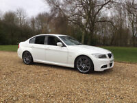 2011 BMW 3 Series, White 320D M Sport Plus Edition 2.0 + Full service History(BMW 318D,not A5,C220,)