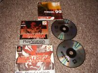 PLAYSTATION 1 GAME MEATAL GEAR SOLID COMPLETE