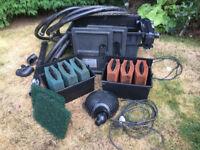 Oase pond filter + Pump + Bitron 25 UV light