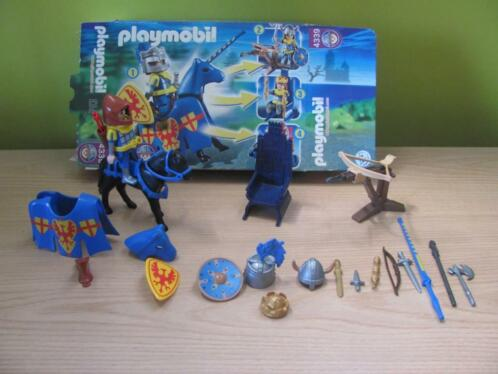 Playmobil Ridder in 4 gedaanten (4339)