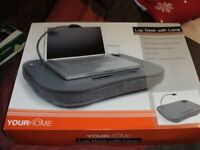 LAPTOP DESK TRAY WITH LAMP (New & Boxed)