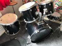 Drum kit with silencers £100 ono
