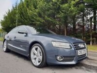 AUDI A5 2.0 Turbo FSI SE Sportback S Tronic Quattro FULL SERVICE HISTORY ONLY 70k GREAT PERFORMANCE