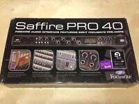 Focusrite Saffire PRO 40 Interface