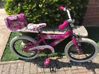 Lil monkey pink bike as new