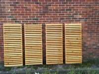 Solid Pine Wooden Racking/Shelving x 4